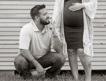 Maternity session: crazy in love! | Spring, TX