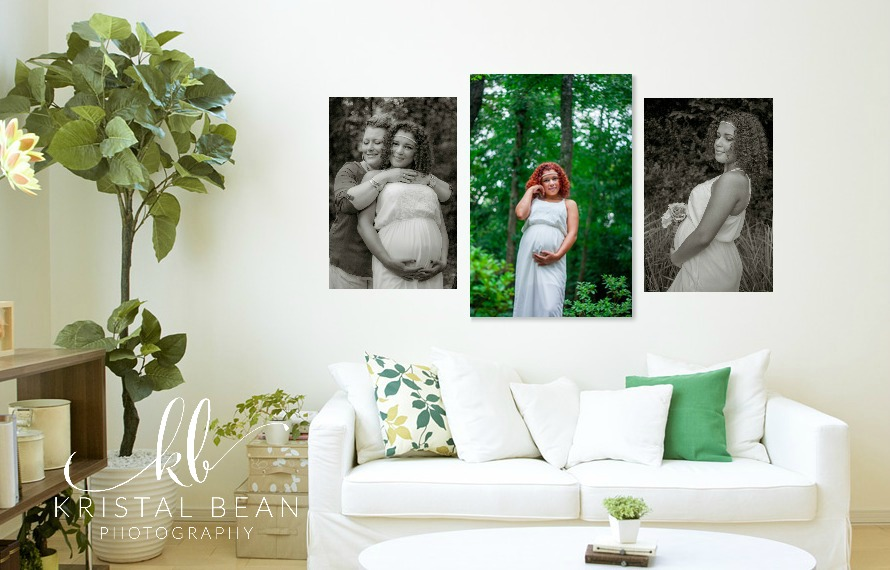 Maternity session wall art, maternity photos, The Woodlands maternity photographer