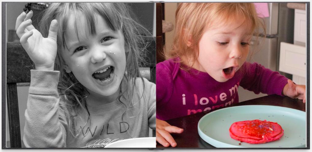 heirloom photo album showcases how kids grow over time