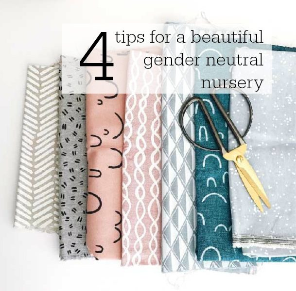 Four tips for a gender-neutral nursery