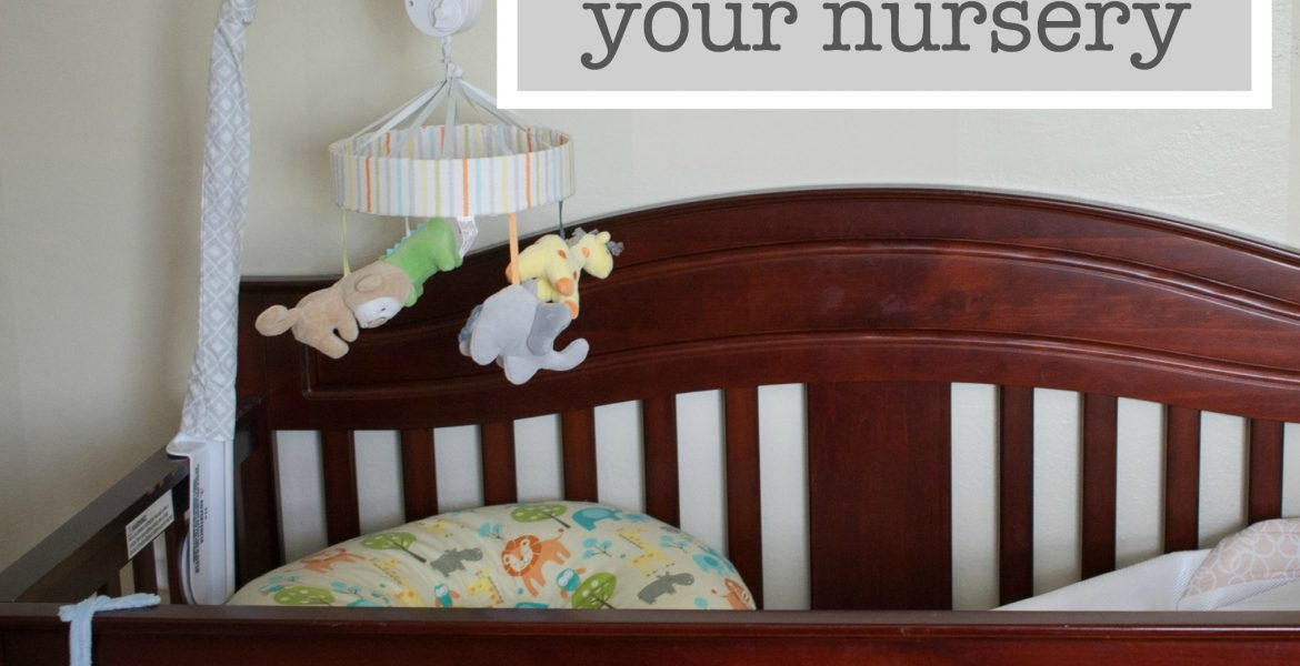 Six must-have photos of your nursery