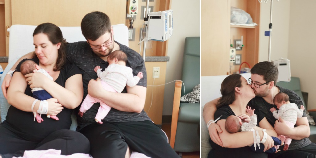 the woodlands newborn family photographer