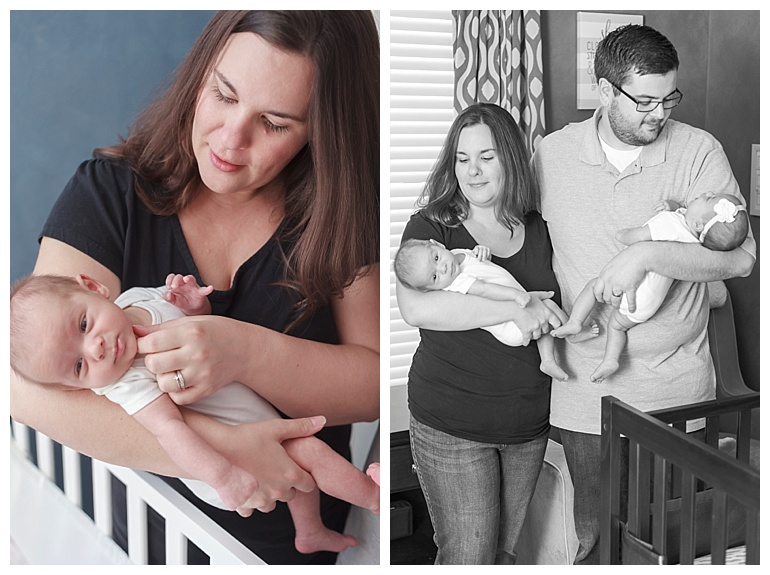 in-home newborn session Katy Tx