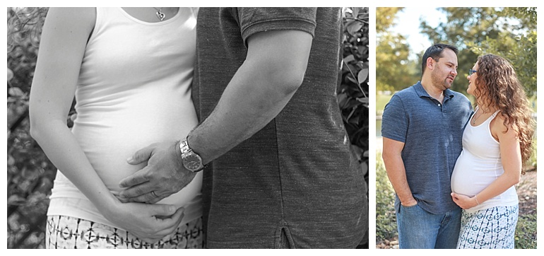 couples maternity photos the woodlands tx