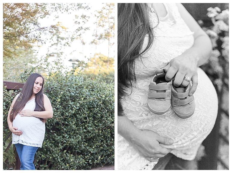 houston outdoor maternity session