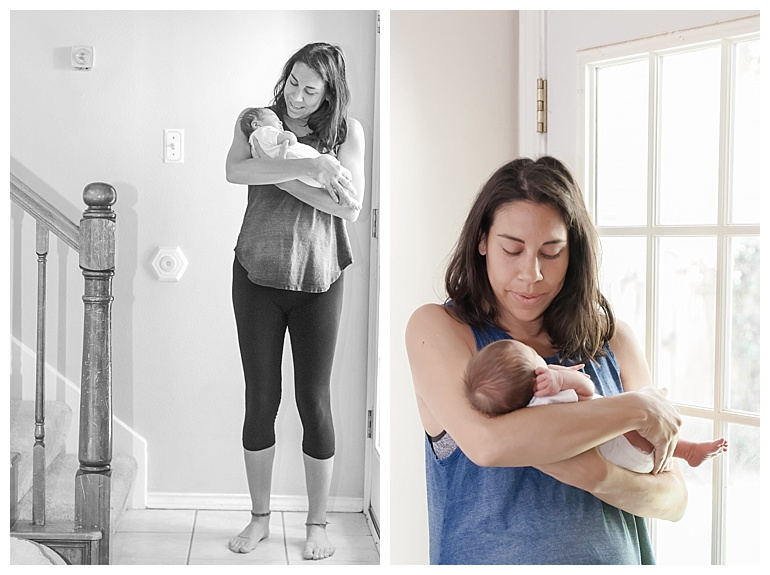 at-home newborn photography the woodlands tx