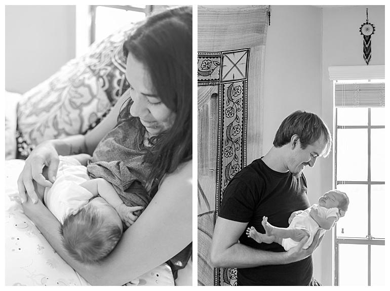 lifestyle newborn in-home photos conroe tx