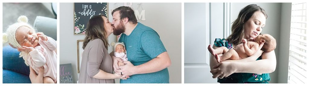 houston texas in-home newborn photographer