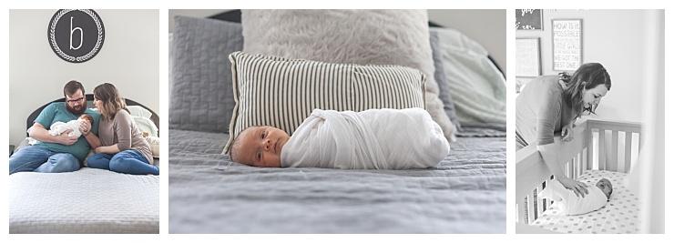 newborn photos taken at home houston texas