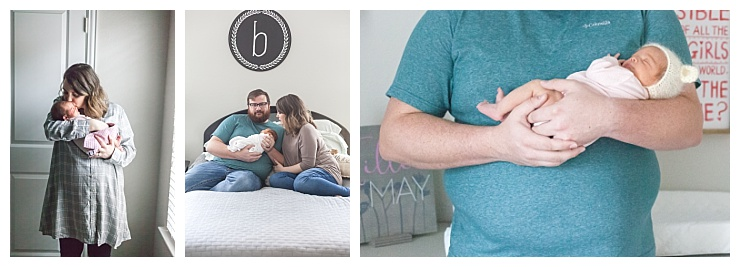 in-home newborn photos the woodlands texas