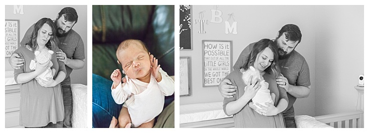 in-home newborn photography the woodlands texas