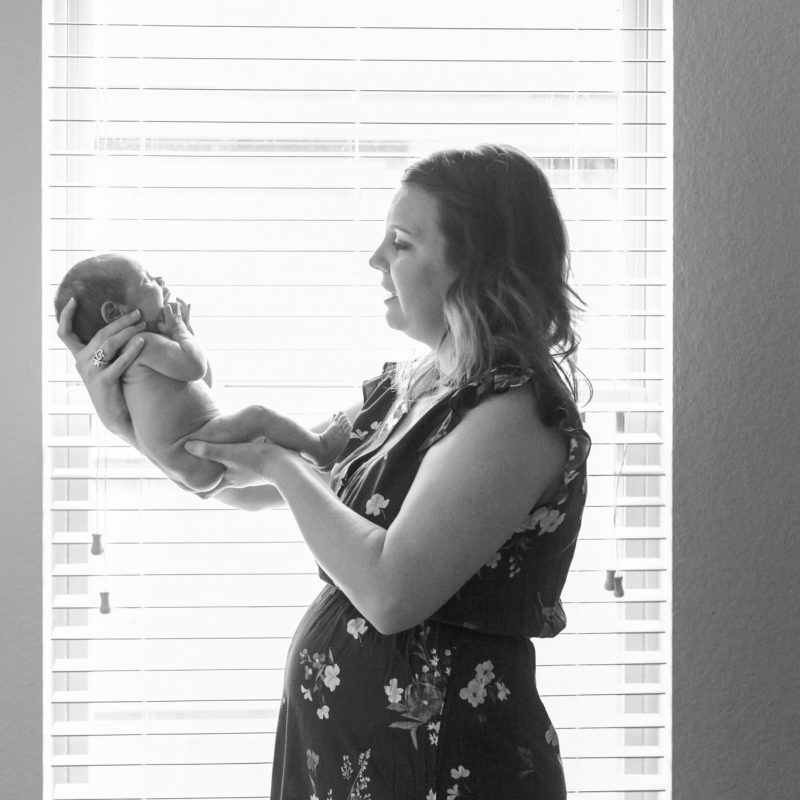 conroe, tx in home newborn photos natural newborn photography