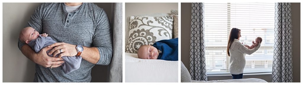 at-home newborn pictures the woodlands tx