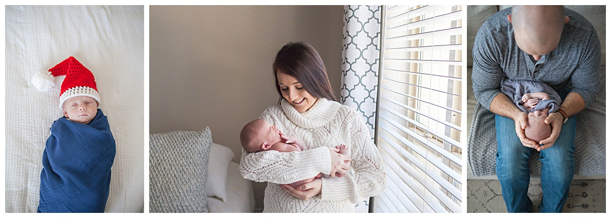 conroe tx in-home newborn photography
