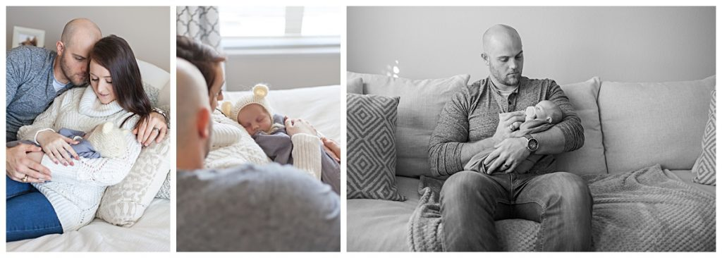 the woodlands, tx in home newborn photos