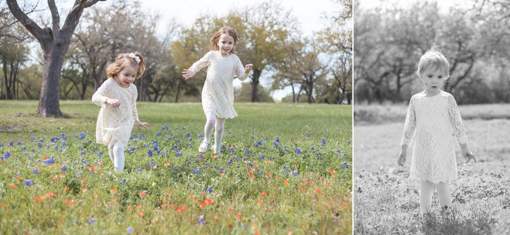 family photo session texas bluebonnets brenham texas