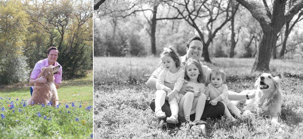 outdoor family photography conroe texas