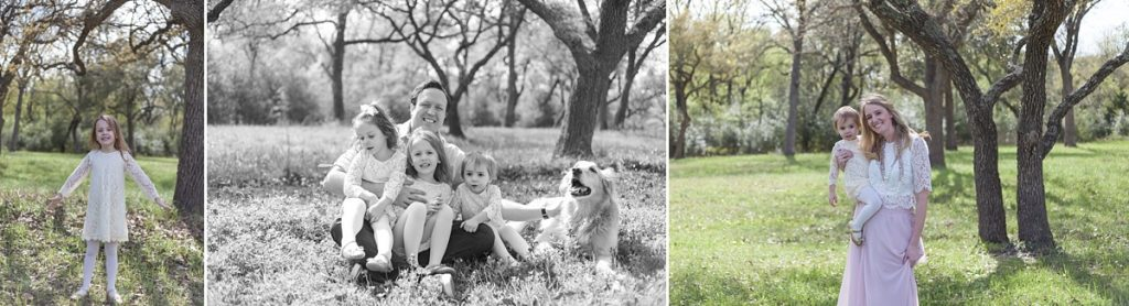 beautiful family photo session in texas bluebonnets brenham texas