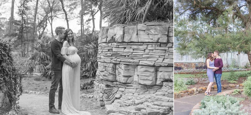 maternity photo session the woodlands texas