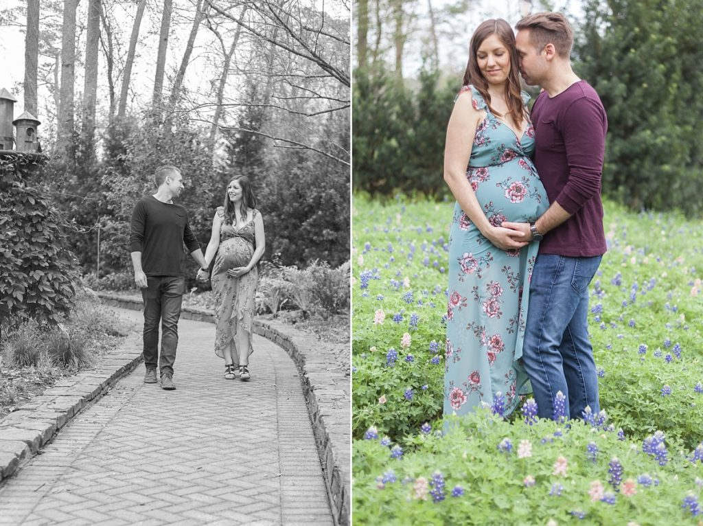 the heights texas maternity photographer