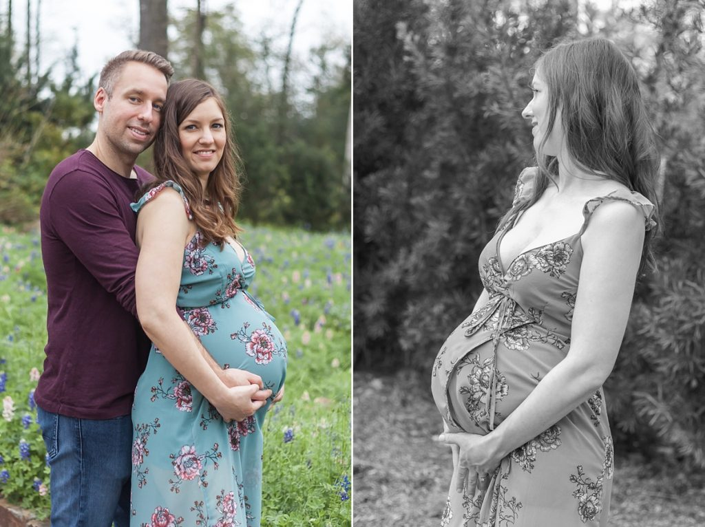 maternity photographer conroe texas