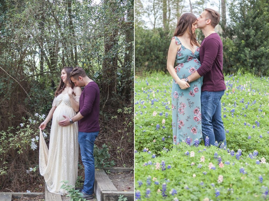magnolia texas maternity photo session