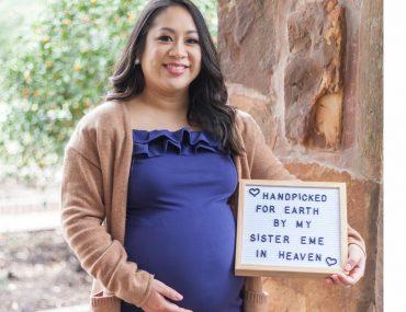 Maternity session: celebrating Cathy's rainbow baby #woodlandsphotographer #woodlandsmaternityphotographer