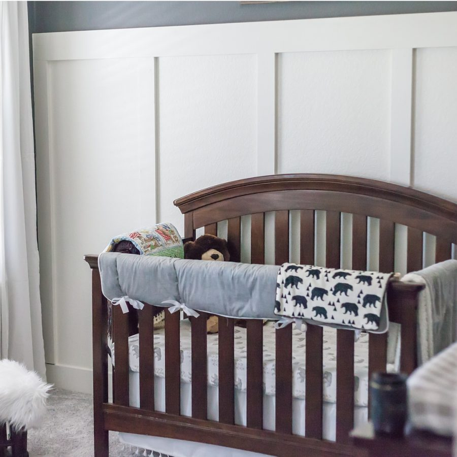crib shot in home newborn photography the woodlands texas