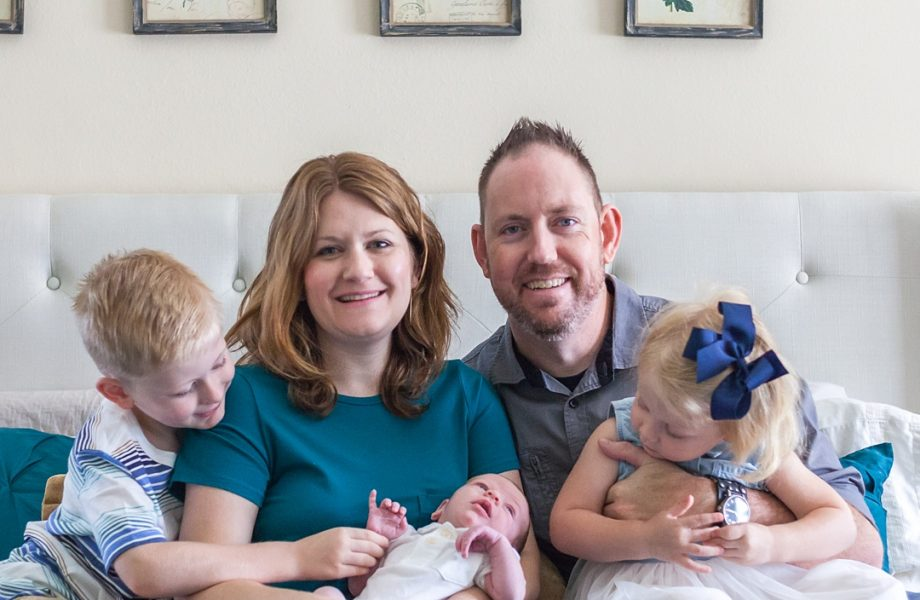 The Woodlands at-home newborn photography: Life begins with Silas