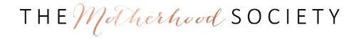 the motherhood society logo