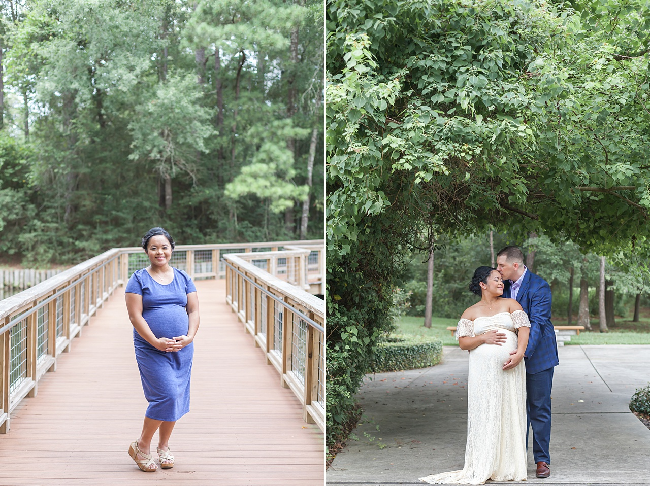 romantic maternity photography photos in the woodlands texas by kristal bean