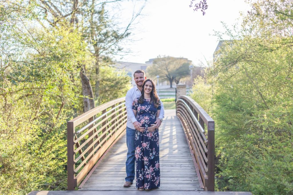TAMU spring couples maternity session by kirstal bean photography