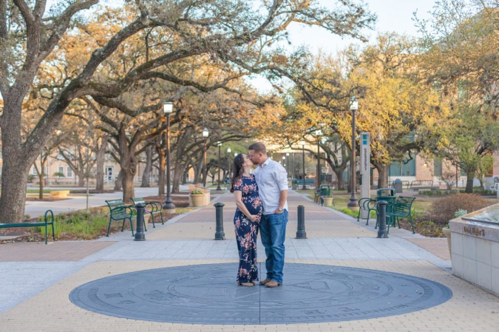 texas a&m maternity photos on military walk by kristal bean