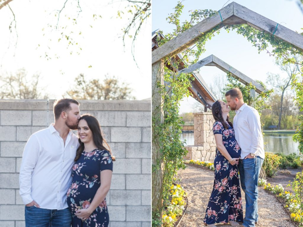 maternity photos at texas a&m university