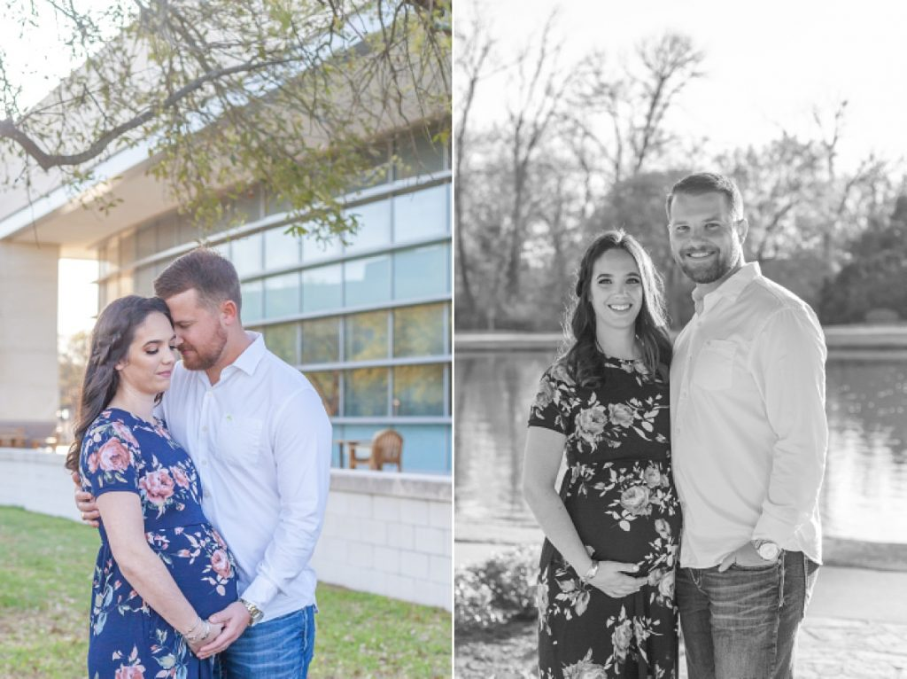 bryan/college station texas maternity portrait session